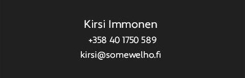 Somewelho Kirsi Immonen